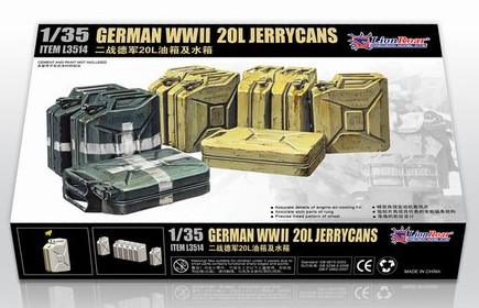 Lion Roar 3514 German IIWW 20L Jerrycans