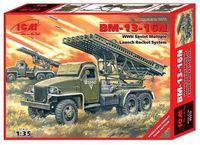 BM-13-16N Soviet IIWW Multiple Launch Rocket System Katyusha