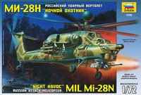 Mil Mi-28N Night Havoc Modern Russian Attack Helicopter