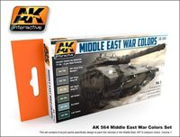 AK 564 Middle East War Colors Set