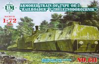 Armored Train of Type OB-3 RAILROADER (Zheleznodorozhnik)