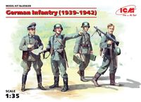 German Infantry (1939-1942) (4 figures) (100% new molds)