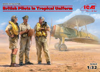 British Pilots in Tropical Uniform 1933-43
