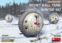 Soviet Ball Tank with Winter Ski with Interior Kit