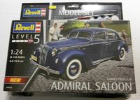 Luxury Class Car Admiral Saloon Model Set