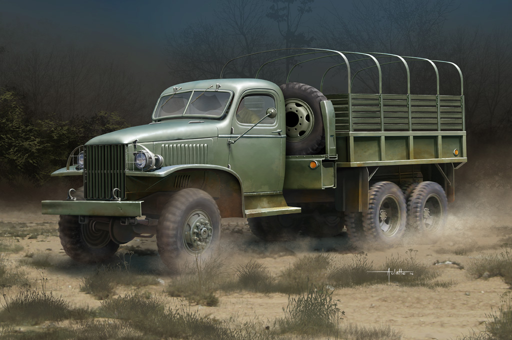 HOBBY BOSS 83831 1//35 US GMC CCKW-352 Steel Cargo Truck