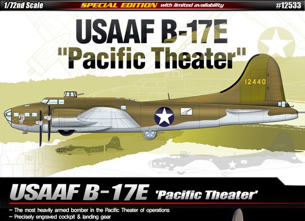 "B-17E USSAF ""Pacific Theater"" - Image 1"