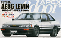 AE86 Levin 2Door GT APEX Late