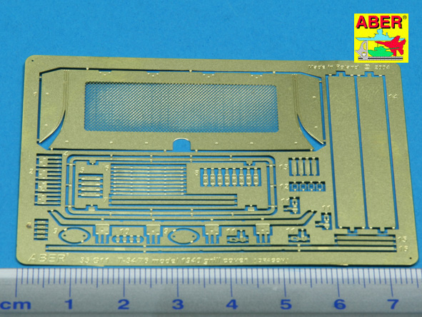 1//35 ABER 35 G11  Grille cover for russian tank T-34//76 model 1940