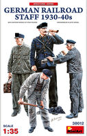 German Railroad Staff 1930-40s