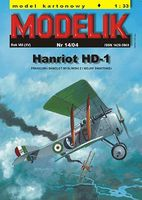 French fighter Hanriot HD-1