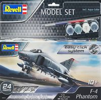 F-4E Phantom Model easy-click system Model Set