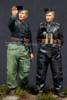 German Heer Panzer Crew Set (2 figs)