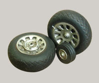 Resin wheels to P-51 Mustang
