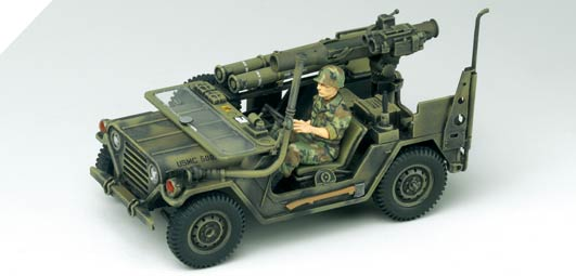Tamiya 1//35 M151A2 w//Missle Launcher