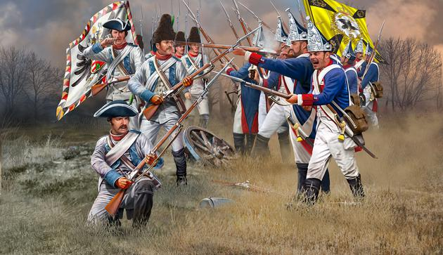 Seven Years War AUSTRIAN & PRUSSIAN INFANTRY - Image 1