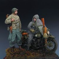 US Soldier & Rider (for MINIART kit) - Image 1