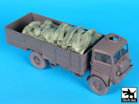 Bedford QLT troop carrier accessories set for IBG Models