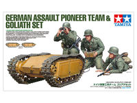 German Assault Pioneer Team & Goliath Set - Image 1