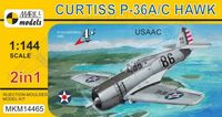 Curtiss P-36A/C Hawk (2in1) - Image 1