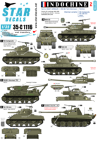 Indochine #2. Heavy armour. M36B2, M4 Composite, M4 105mm, M4A1, Panther. - Image 1