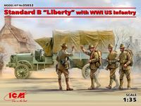 "Standard B ""Liberty"" with WWI US Infantry - Image 1"