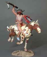 Indian Warrior Mounted