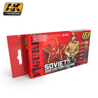 AK 3120 Soviet WWII Uniform Camouflage Set