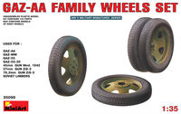 GAZ-AA family wheels set - Image 1