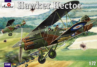 British reconnaisance-fighter plane Hawker Hector