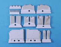 M48/60 Engine Deck Louvers set (for Dragon) - Image 1