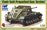 British 17pdr Self-Propelled Gun Archer