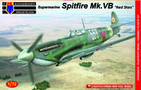 Supermarine Spitfire Mk.Vb Red stars