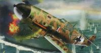 German fighter Messerschmitt BF-109 G-2 - Image 1