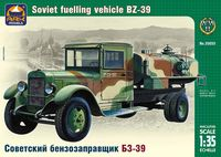 Soviet fuelling vehicle BZ-39