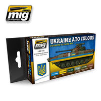 A.MIG 7125 UKRAINE ATO COLORS Set