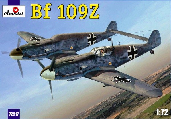 German IIWW fighter Messerschmitt Bf-109Z - Image 1