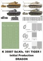 Sd.Kfz.181 TIGER I  Dragon - Image 1