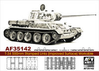 Soviet T-34 550mm Stamped Links (Improved Surface) Workable - Image 1