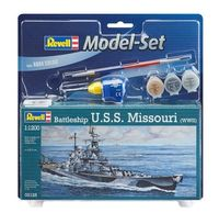 Battleship USS Missouri Model Set