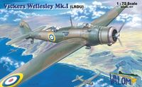 Vickers Wellesley Mk.I (LRDU) British long range bomber