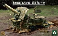 German Empire Krupp 420mm Big Bertha Bertha Siege Ho