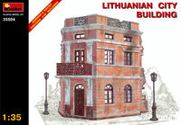 Ruined Lithuanian City Building