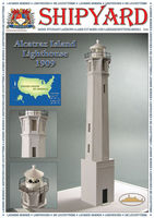 Alcatraz Island Lighthouse nr16 skala 1:72