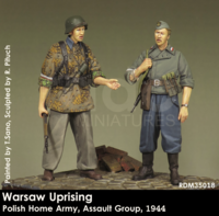 Warsaw Uprising Polish Home Army, Assult Group, 1944 - Image 1