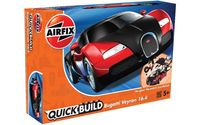 Bugatti Veyron Black/Red (Quickbuild)
