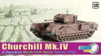 Churchill Mk.IV, A Squadron, North Irish Horse (Tunisia 1943)