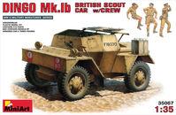 DINGO Mk.1b BRITISH SCOUT CAR w/CREW