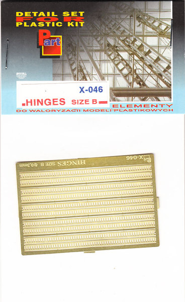 Hinges (size B) 0,3mm - Image 1