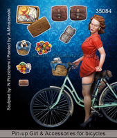 Girl + accessories for bicycles - Image 1